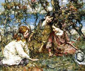 Edward Atkinson Hornel - Estate Fiorire