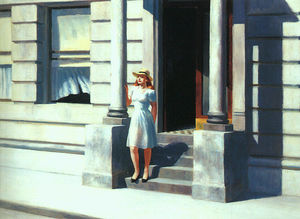 Edward Hopper - Estate - (Arte su tela)