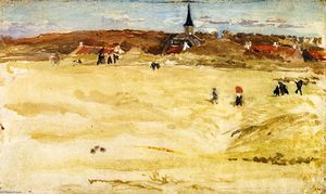 James Abbott Mcneill Whistler - Domenica a Domburg