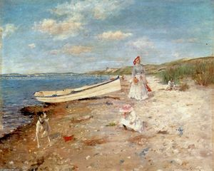 William Merritt Chase - Sunny Day a Shinnecock Bay