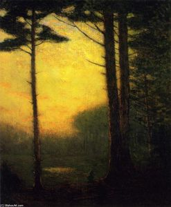 Charles Warren Eaton - Sunset Pines