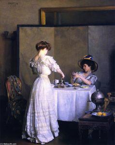 William Macgregor Paxton - tè le foglie