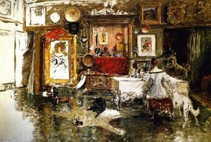 William Merritt Chase - Il Tenth Street Studio