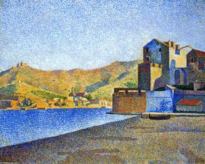Paul Signac - Il Town Beach, Collioure, Opus 165