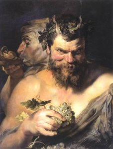 Peter Paul Rubens - due Satiri