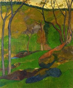 Paul Serusier - Sottobosco a Huelgoat
