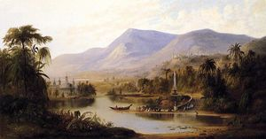Robert Scott Duncanson - Vale of Kashmir