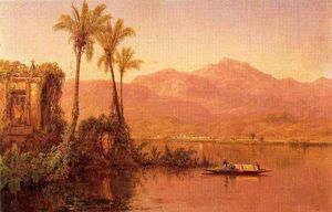 Louis Remy Mignot - Vesper, Guayaquil in Ecuador Fiume (II)-