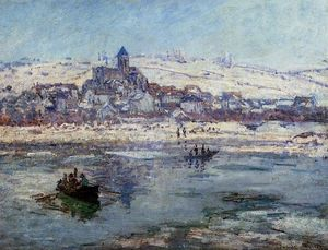 Claude Monet - Vetheuil in inverno
