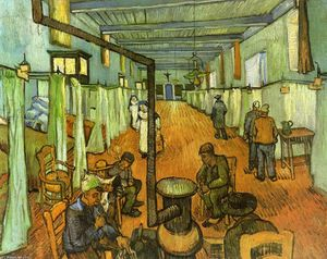 Vincent Van Gogh - Reparto nell ospedale ad arles