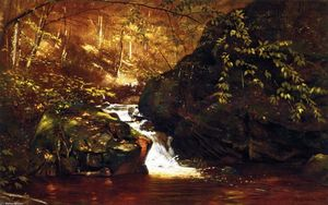John George Brown - Cascata , Huntington , Massachusetts