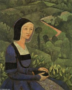 Paul Serusier - Un Vedova