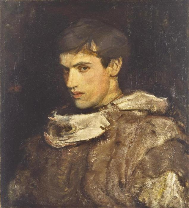 William Michael Spartali Stillman di Abbott Handerson Thayer (1849-1921, United States)