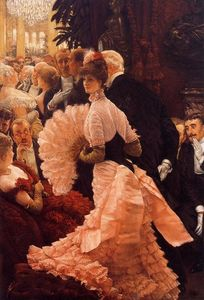 James Jacques Joseph Tissot - A Woman of Ambition