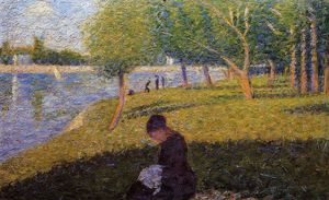 Georges Pierre Seurat - Donna Sewint