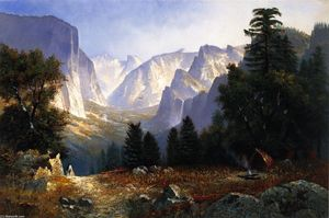 Edwin Deakin - Yosemite Valley