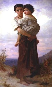William Adolphe Bouguereau - giovani zingari