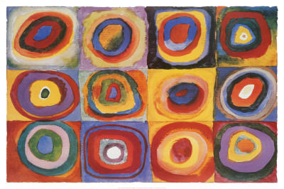 Color Study: Squares with Concentric Rings (1913)