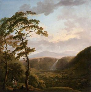 George Barret The Elder - Cascata a powerscourt