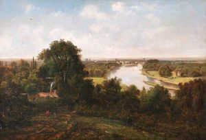 George Barret The Younger - vista da Richmond Collina , Surrey