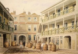 Thomas Hosmer Shepherd - The Bell Inn, Aldeno Via