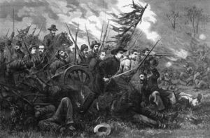 Thomas Nast - il campagna in virginia