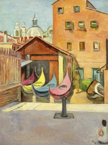 Vanessa Bell - il barca Painter-s Cantiere