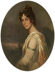William Arnold Woodhouse - Il Artist-s Moglie , Maria Elisabetta -