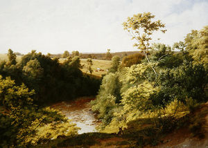 William Frederick Witherington - A Riverside Warren-on The Greta,