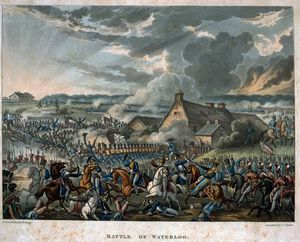 William Heath - Battaglia di Waterloo