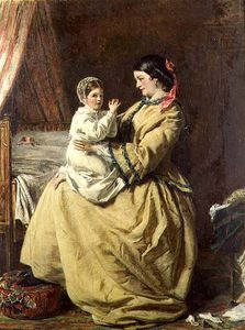 William Powell Frith - sera preghiera -