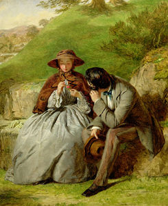 William Powell Frith - amanti