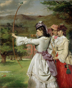 William Powell Frith - I Fiera Toxophilites