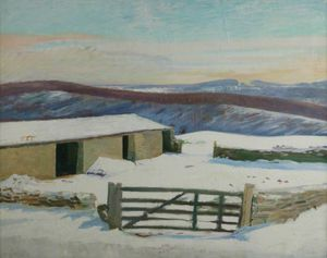 William Rothenstein - Iles- Podere , Inverno