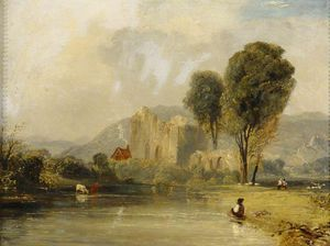 James Baker Pyne - Valle Crucis Abbey