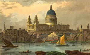 Thomas Hosmer Shepherd - Cattedrale di st Paul's
