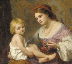 Thomas George Webster - Materno amore
