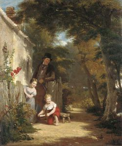 William Frederick Witherington - Il Robin The Peasant Dalla Sua Toil