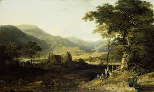 William Havell - Tintern Abbazia