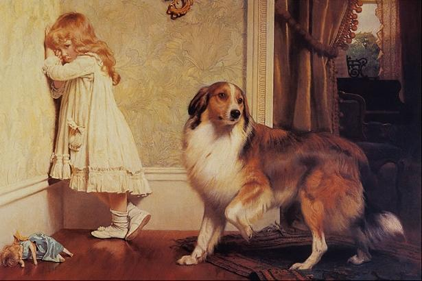 uno speciale Pleader - di Charles Burton Barber (1845-1894, United Kingdom)