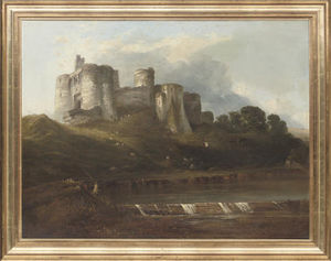 Horatio Mcculloch - Kidwelly Castello , Il galles