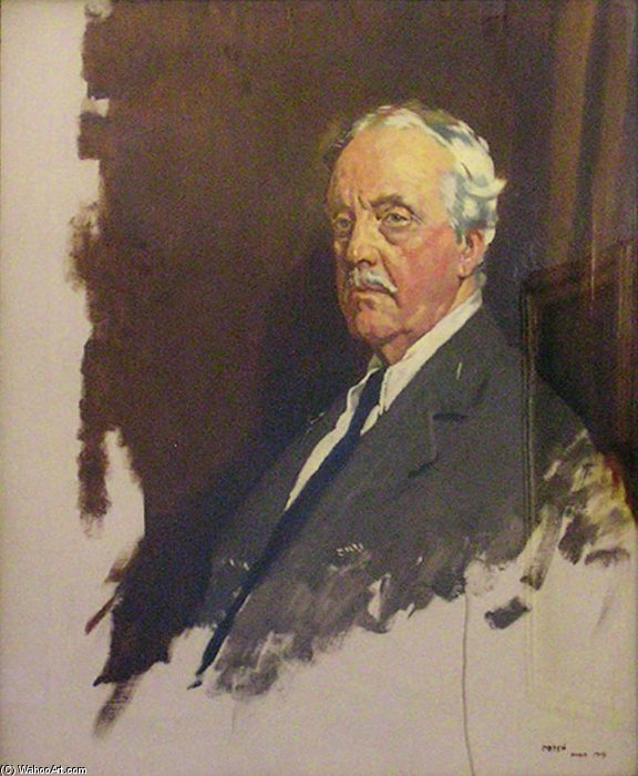 Artù james balfour di William Newenham Montague Orpen (1878-1931, Ireland)