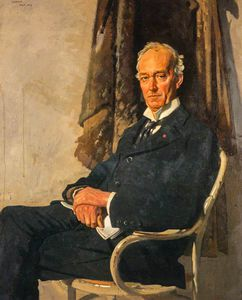 William Newenham Montague Orpen - George Allardice, 1 ° barone Riddell di Walton Heath, Giornale titolare e Diarist