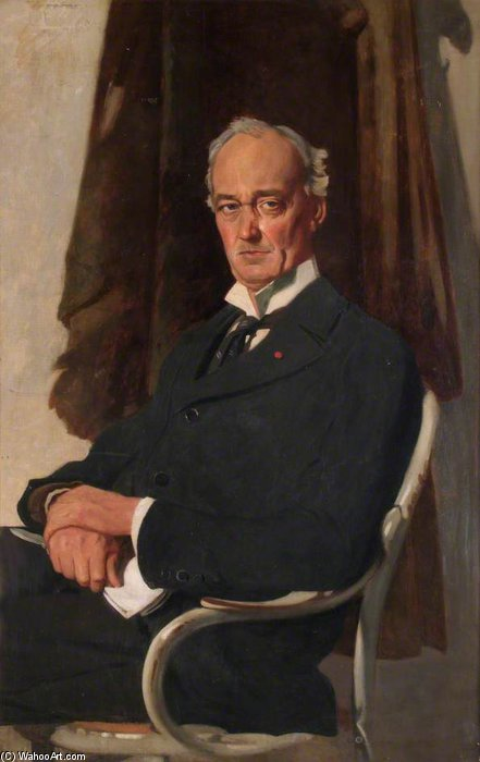 Signore Riddell di William Newenham Montague Orpen (1878-1931, Ireland)