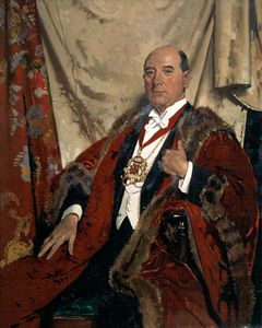 William Newenham Montague Orpen - Signore Andrea Lewis , Lld , lord provost di aberdeen