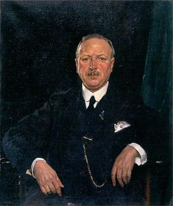 William Newenham Montague Orpen - Signore Tommaso Jaffrey , Bt , Lld , Presidente Di Aberdeen galleria darte Comitato -