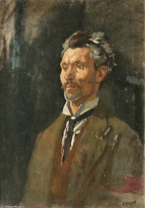 senza titolo di William Newenham Montague Orpen (1878-1931, Ireland)