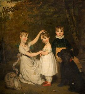 Thomas Phillips - i bambini del 2nd Conte Talbot