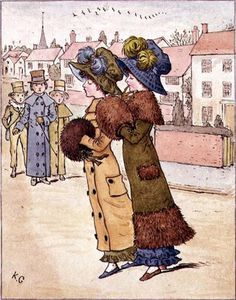 Kate Greenaway - `out` per una passeggiata