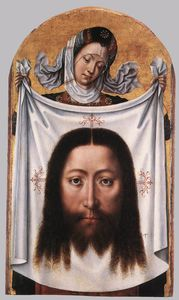 Master Of The Legend Of Saint Ursula - St Veronica con il sudario